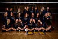 Lakeside Rams Volleyball 2018