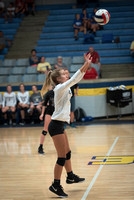 Lakeside Rams Volleyball Game Shots